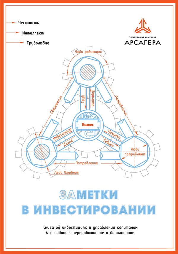 «Заметки в инвестировании» Книга про инвестиции 4 издание обложка